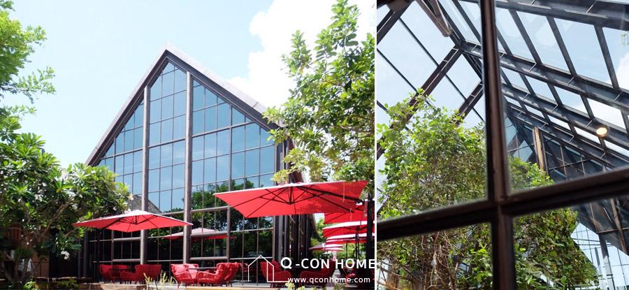 คาเฟ่หัวหิน, ร้านอาหารหัวหิน, สถาปัตยกรรม, Architectural Design, Air Space Hua Hin, Air Space หัวหิน