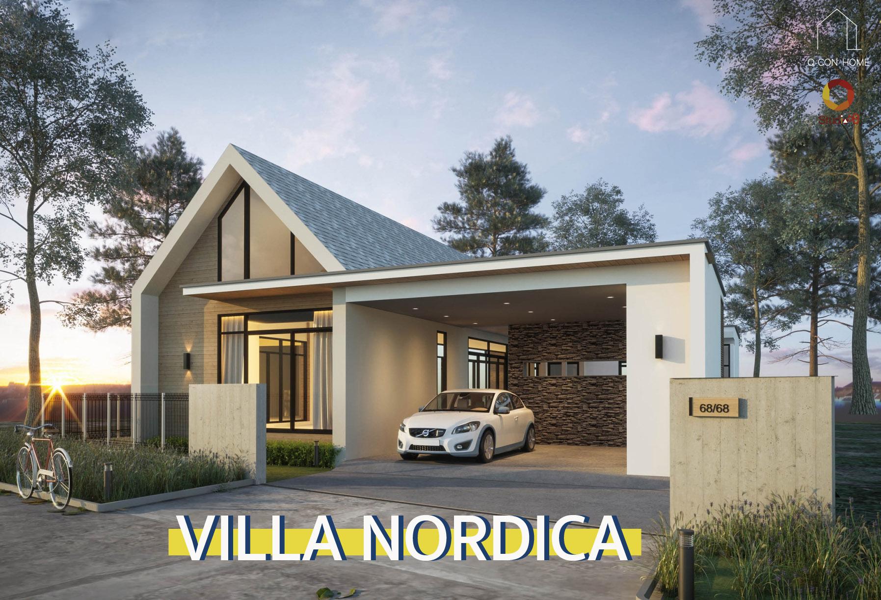 บ้านสไตล์ Nordic, Scandinavian Style, นอร์ดิก