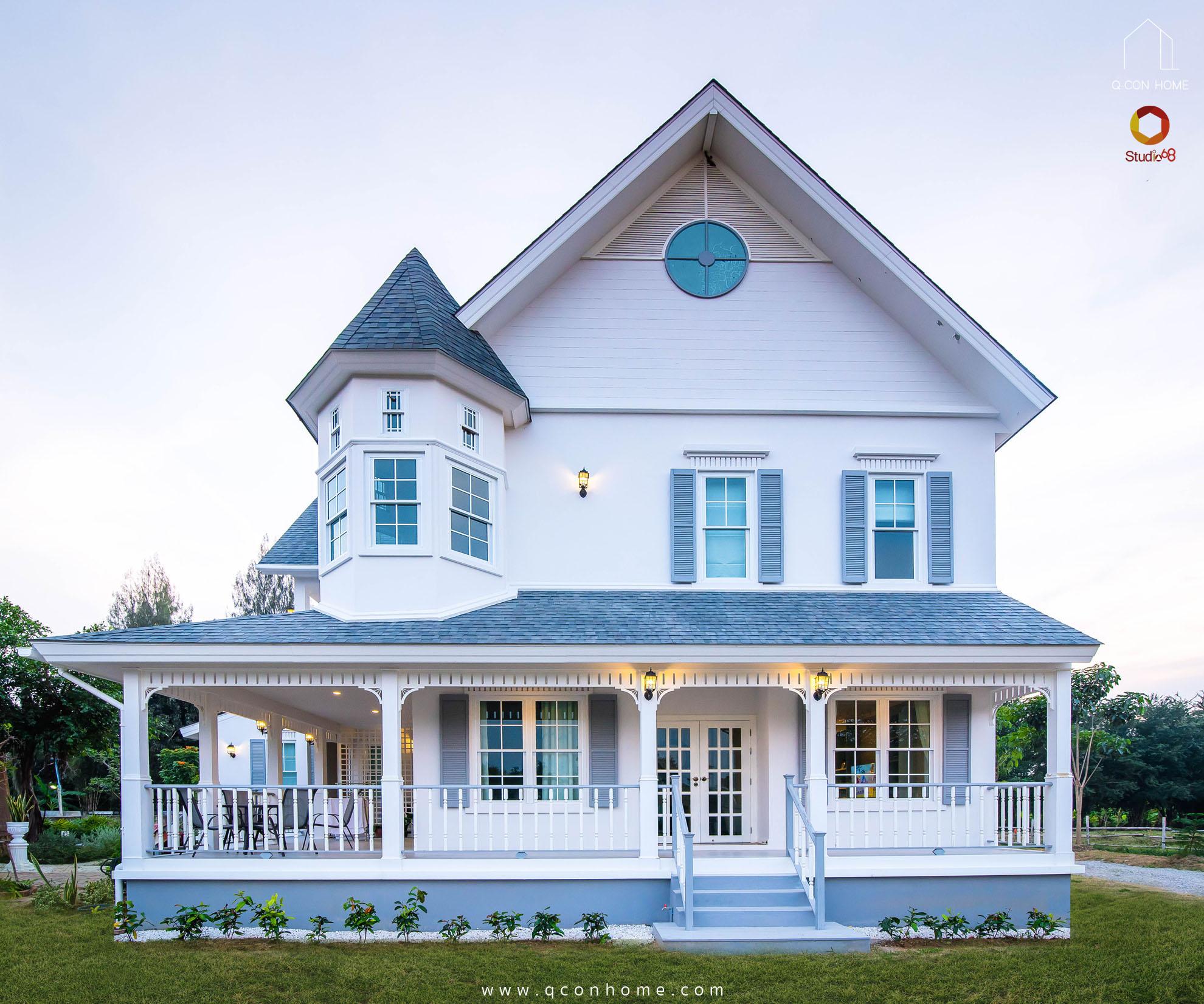 บริษัทรับสร้างบ้าน หัวหิน ออกแบบบ้าน รับสร้างบ้าน สร้างบ้านดี แบบบ้านสวย บ้านสไตล์คันทรี American Country