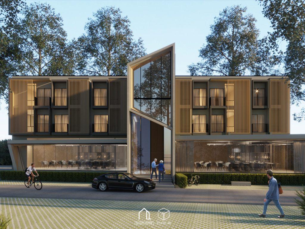 รับออกแบบโรงแรม, รับสร้างโรงแรม, บริษัทออกแบบโรงแรม, The Canal Hotel