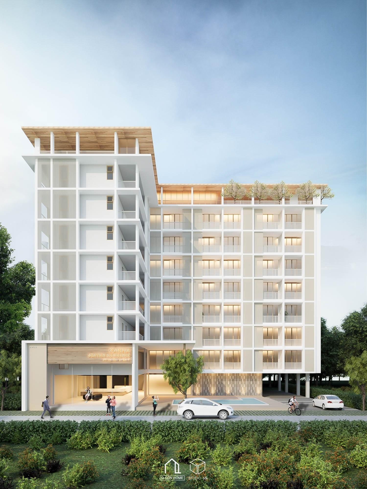 รับออกแบบโรงแรม, รับสร้างโรงแรม, บริษัทออกแบบโรงแรม, โรงแรมสไตล์ Modern