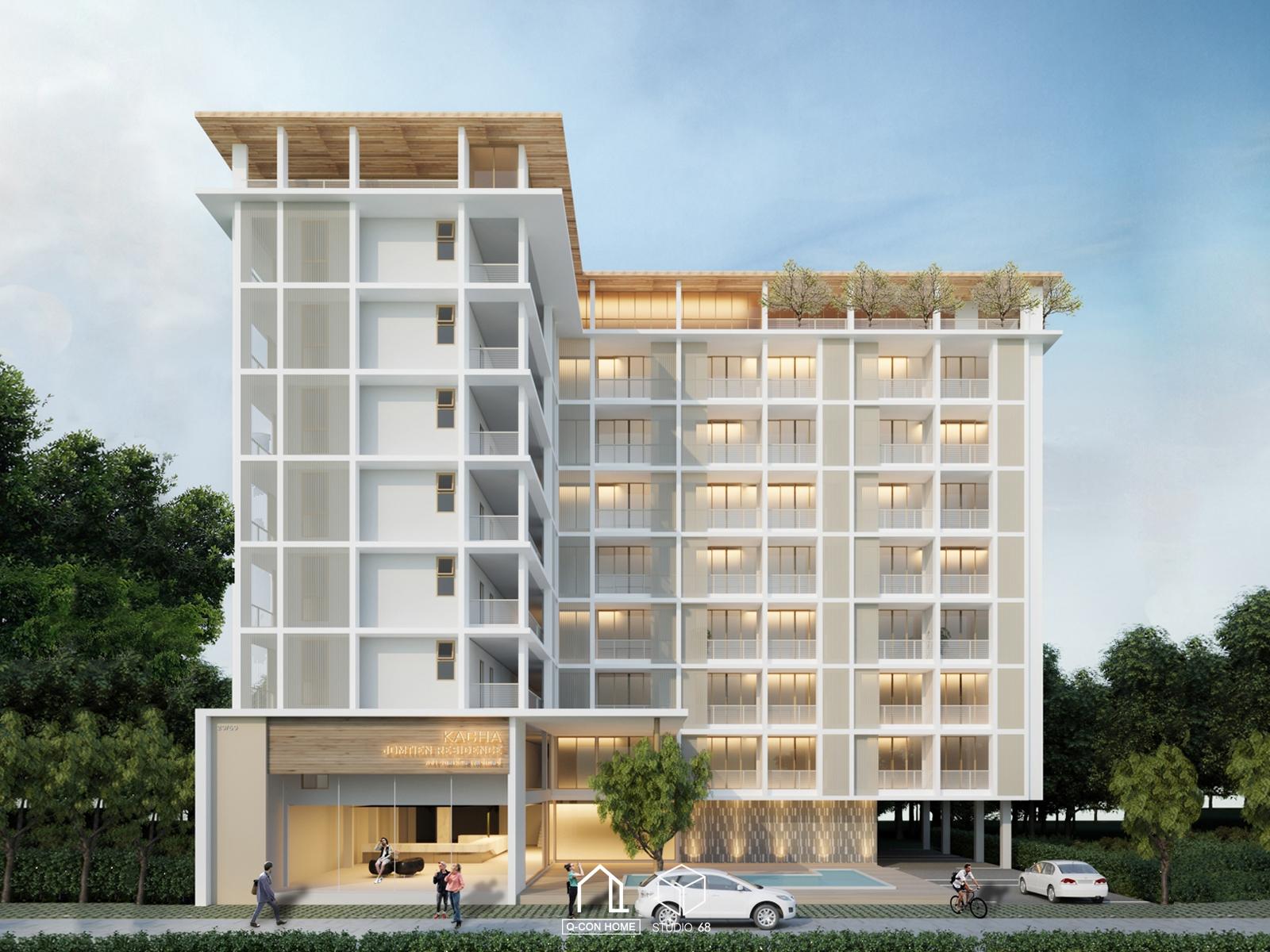 รับออกแบบโรงแรม, รับสร้างโรงแรม, บริษัทออกแบบโรงแรม, Kacha Hotel