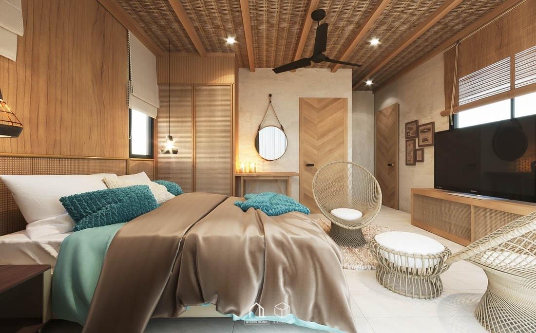 รับออกแบบโรงแรม, รับสร้างโรงแรม, บริษัทออกแบบโรงแรม, โรงแรมสไตล์ Tropical, ออกแบบตกแต่งภายในโรงแรม, ห้องพัก Deluxe