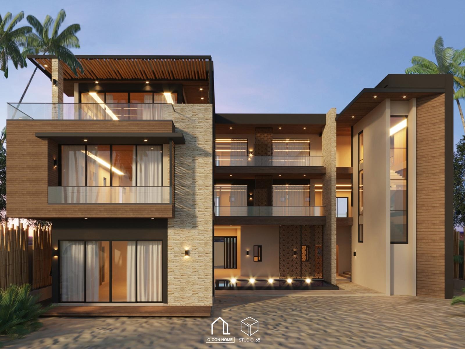 รับออกแบบโรงแรม, รับสร้างโรงแรม, บริษัทออกแบบโรงแรม, Tropical Hotel in Maldives