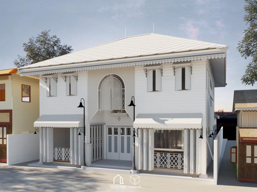 รับออกแบบโรงแรม, รับสร้างโรงแรม, บริษัทออกแบบโรงแรม, Wynn Villa