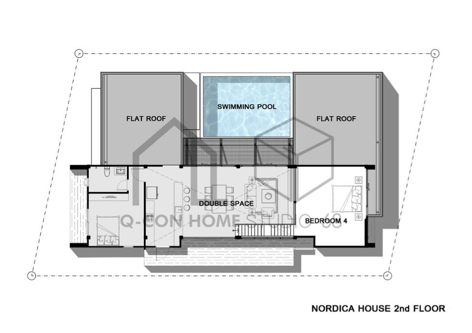 แบบบ้านนอร์ดิก Noric Series Villa Nordica ขายแบบบ้านนอร์ดิก แปลนบ้านนอร์ดิก