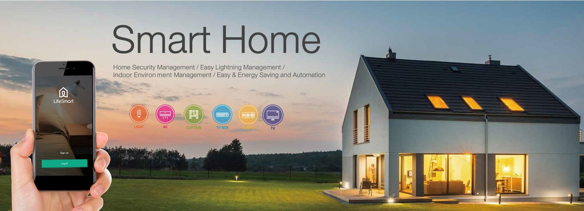 บริการรับสร้าง Smart Home